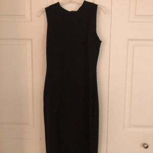 Lauren Ralph Lauren black long sheath dress